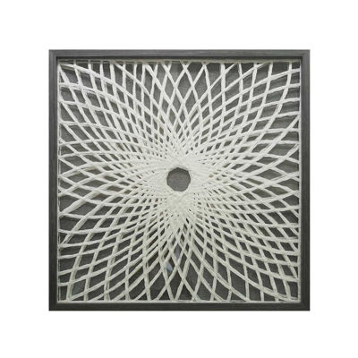 Picture of Framed Natural Paper Art