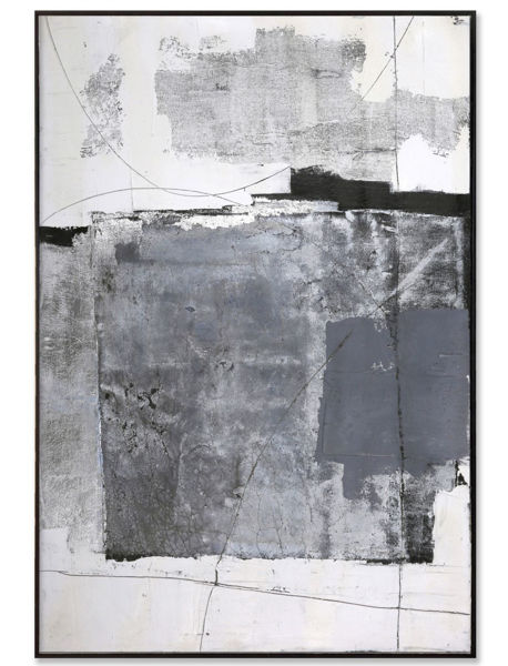 Picture of Framed Grey Abstract