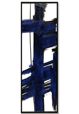 Picture of Framed Blue Abstract