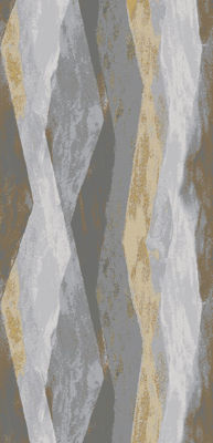 Picture of Allegheny Gray Layers 8X11 Rug