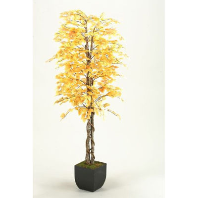 Picture of Fall Aspen Tree 72 In W Metal