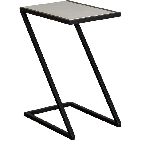 Picture of Black Square Accent Table