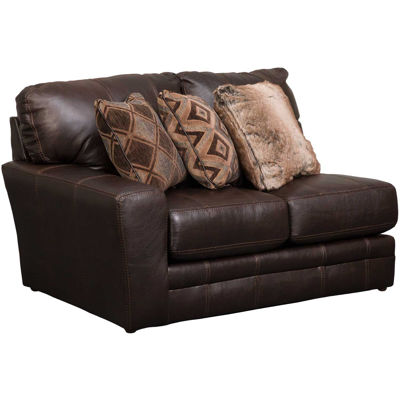 Picture of Denali Italian Chocolate Leather LAF Loveseat