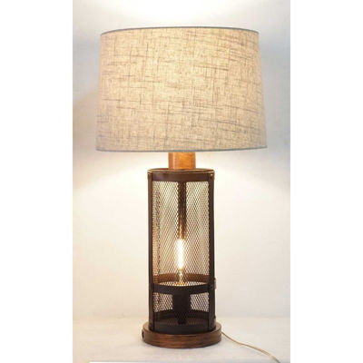 Picture of Industrial Mesh Table Lamp