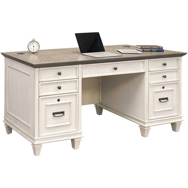 Picture of Hartford Double Pedestal Desk