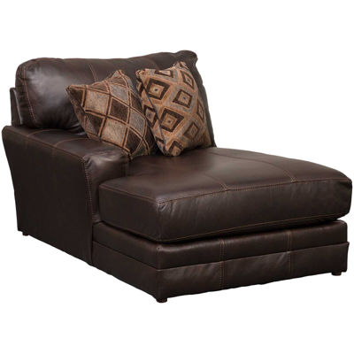Picture of Denali Italian Chocolate Leather LAF Chaise