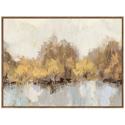 Picture of Fall Landscape with Dark Frame