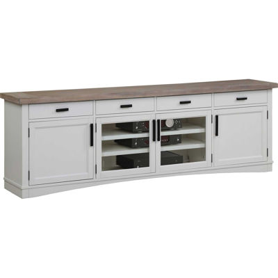"Picture of Americana 92"" TV Console,White"