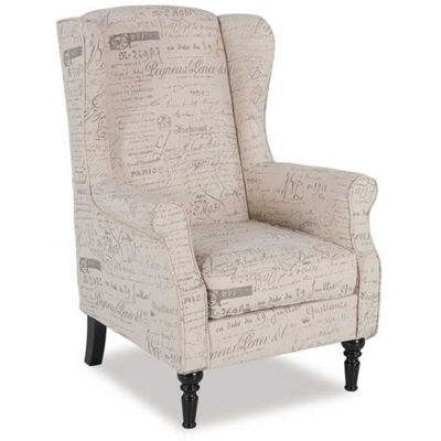 Picture of Evelyn Script Armchair