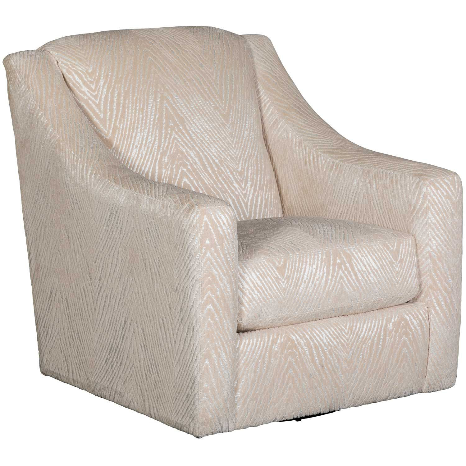 Picture of Lamar Cream Swivel Chair