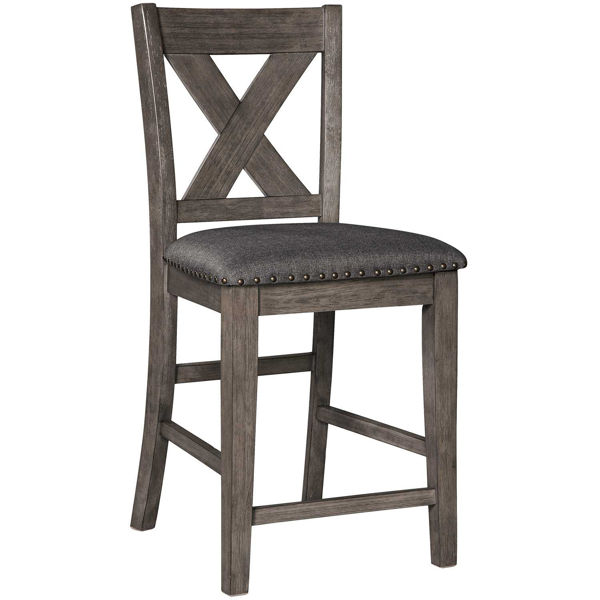 """Picture of Caitbrook 24"""" Barstool with Back"""