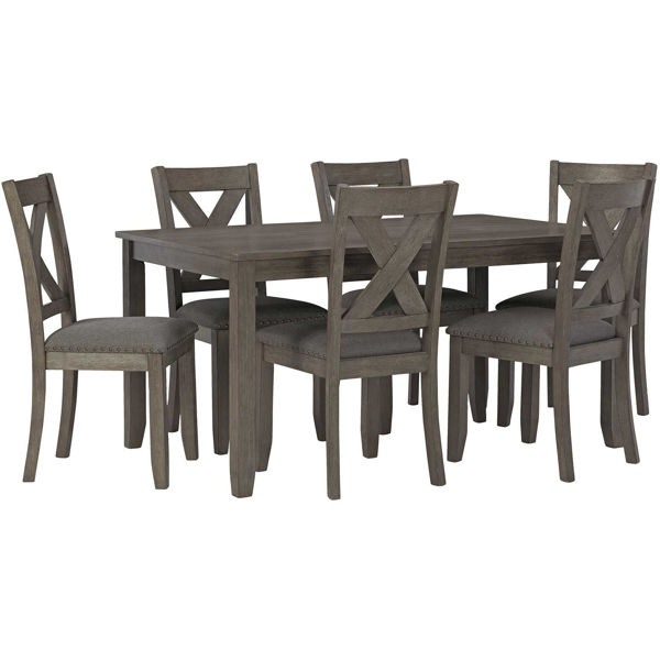 Picture of Caitbrook Dining Height 7 Piece Set