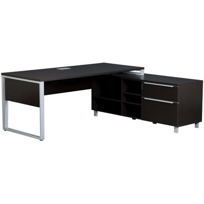 Picture of Fontana Executive Desk, Espresso