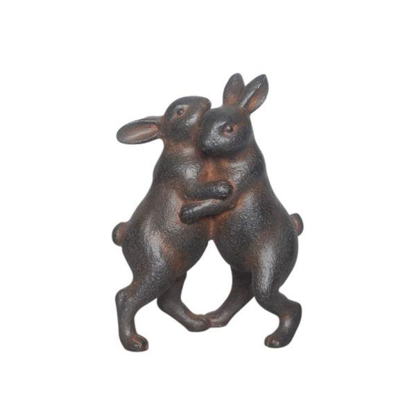 Picture of Dancing Rabbits Sculpture