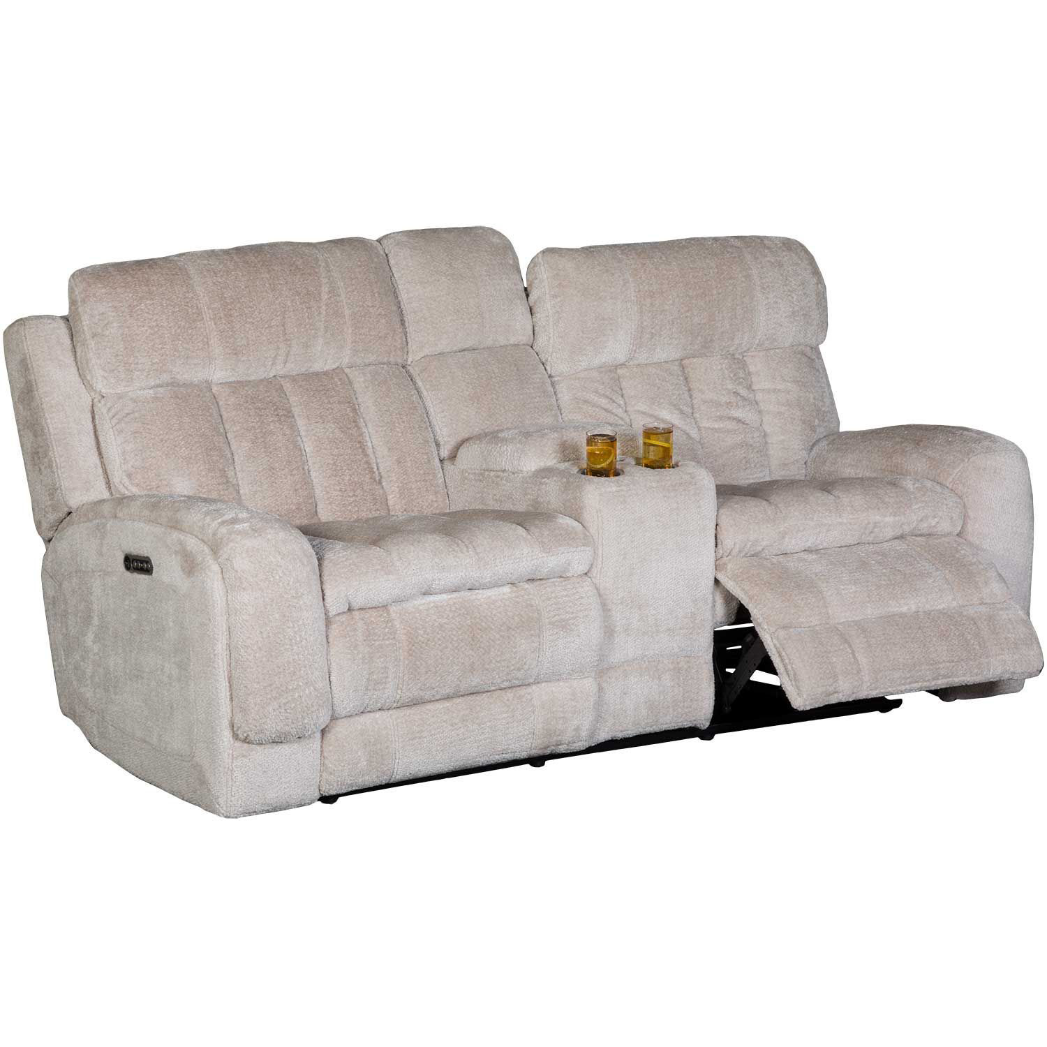 Picture of Lamber Power Reclining Console Love with Adjustabl