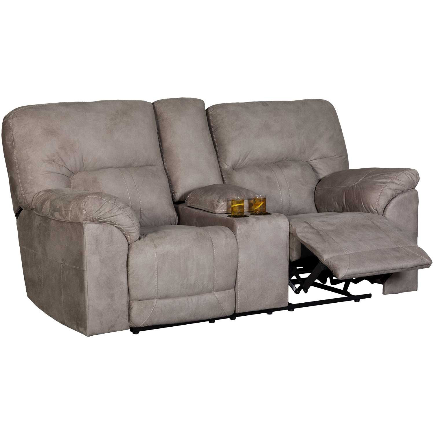 Picture of Cavalcade Reclining Console Loveseat