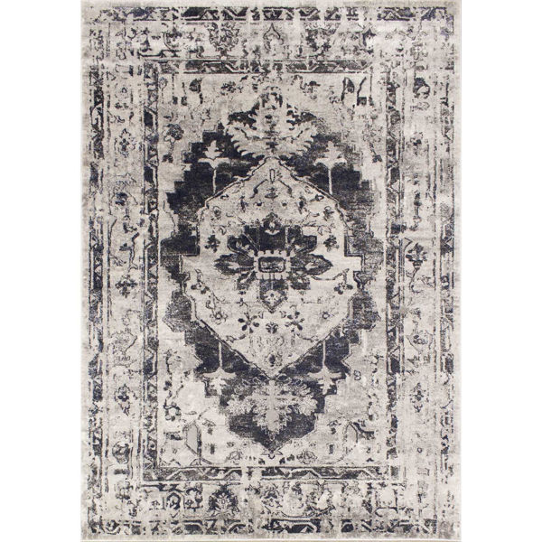 Picture of Chorus Blue Traditional 5x8 Rug