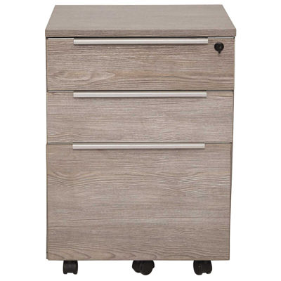 Picture of Manhattan 3 Drawer Mobile Pedestal, Grey