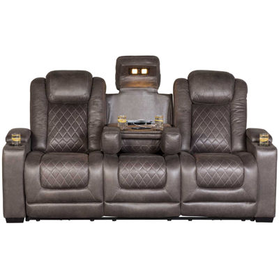 Picture of HyllMont P2 Reclining Sofa with Drop Down Table