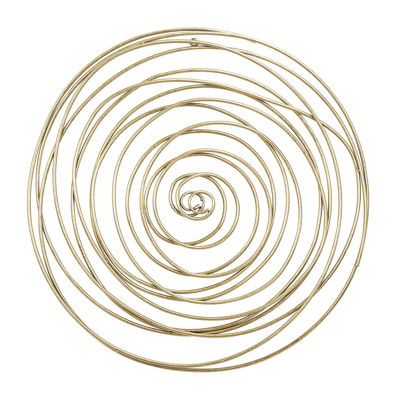 Picture of Gold Metal Circle Wall Decor