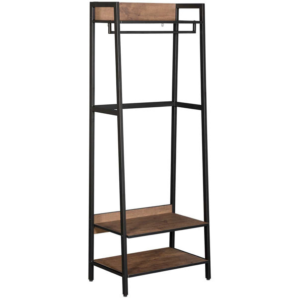 Picture of Black Metal Tall Shelf