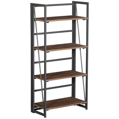 Picture of Black Metal Bookcase