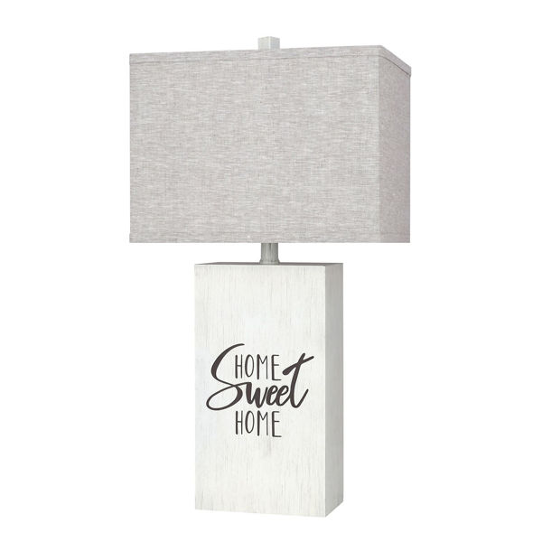 Picture of Grey Home Sweet Home Table Lamp
