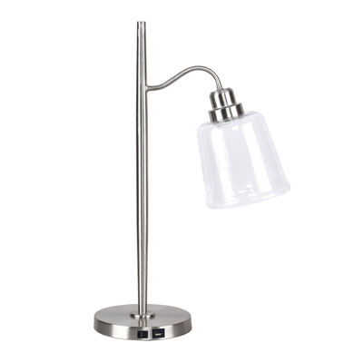 Picture of Nickel Task Lamp with USB Port