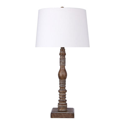 Picture of Antique Carob Table Lamp