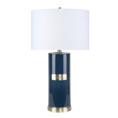 Picture of Teal Glass Home Table Lamp