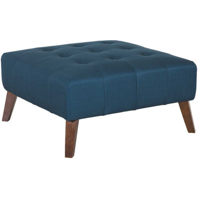 Picture of Binetti Retro Navy Cocktail Ottoman