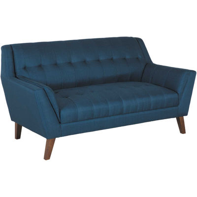 Picture of Binetti Retro Navy Loveseat