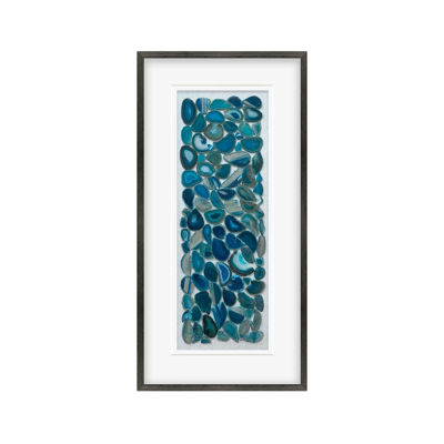 Picture of Authentic Blue Agate Framed