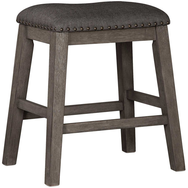 """Picture of Caitbrook 24"""" Backless Barstool"""