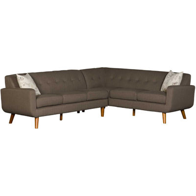 Picture of Urbana Brown Tufted 2 Piece Sectional