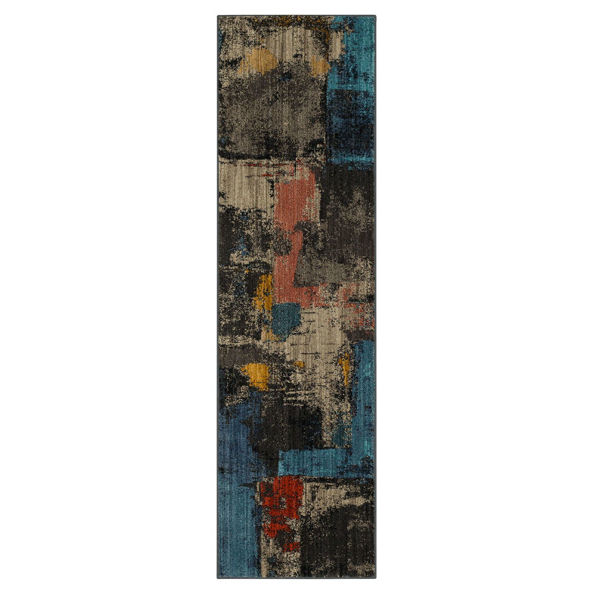 Picture of Elements Frisco Multi 2x7 Rug