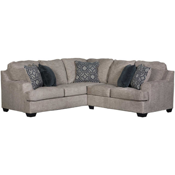 Picture of Bovarian Stone 2 Piece Sectional with LAF Sofa