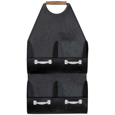 Picture of Black Metal Wall Storage
