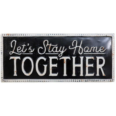 Picture of Stay Home Together Sign