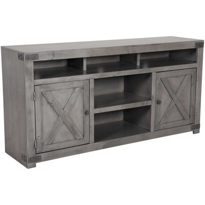 "Picture of Urban Farmhouse 65"" Console in Smoky Grey"