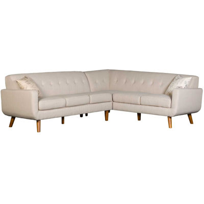 Picture of Urbana Beige Tufted 2 Piece Sectional