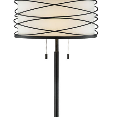 Picture of Lumiere Metal Swirl Table Lamp