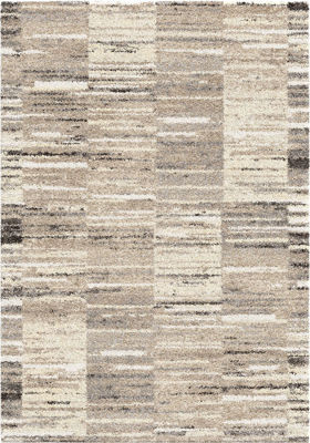 Picture of Super Shag Sahara Multi 5x8 Rug