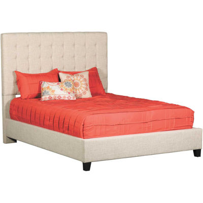 Picture of Florence Upholstered Brown Queen Bed
