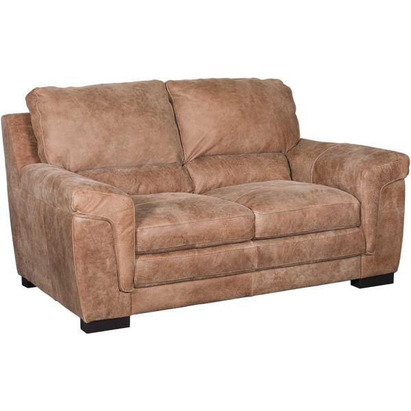 Picture of Knox Italian All-Leather Loveseat