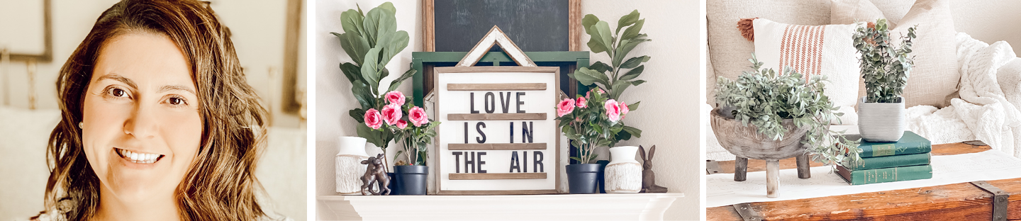 Blogger Spotlight | Decorating Your Mantel for Spring with Vintage Haven 5 Designs