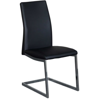 Picture of Dining Chair Black Chrome