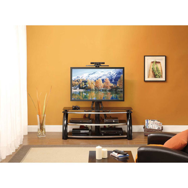 """Picture of 3-in-1 Black 54"""" Video Console"""