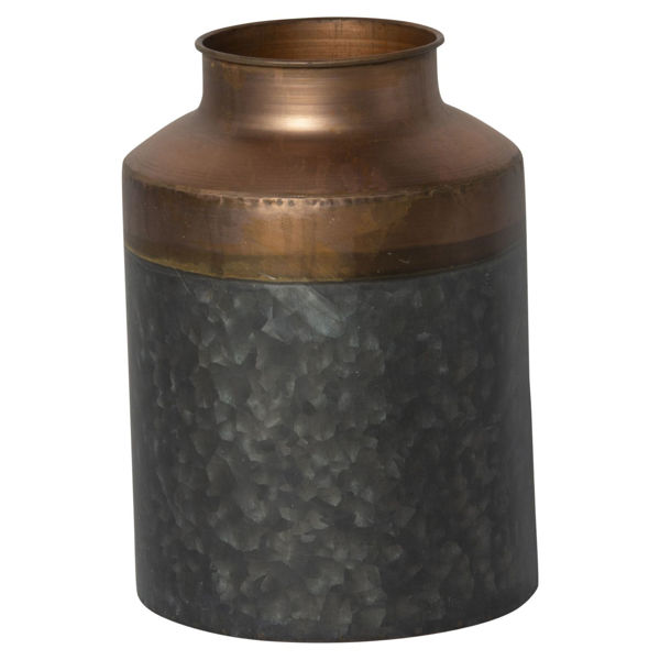 Picture of Metal Canister Bronze Grey