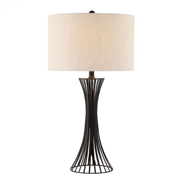 Picture of Metal Open Table Lamp